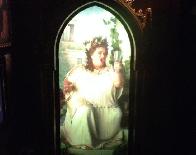 Cadre de la grosse dame