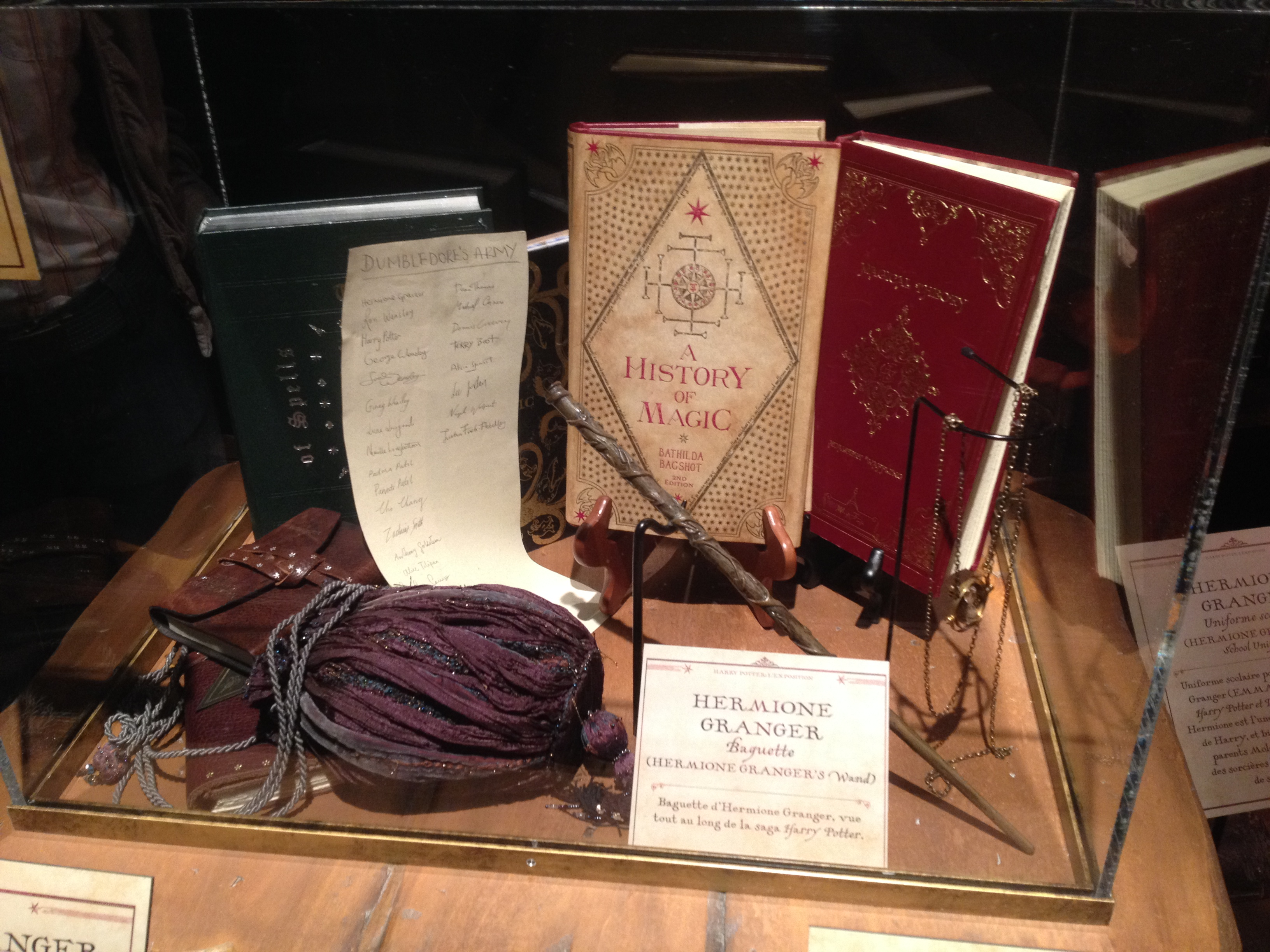 Objets d'Hermione